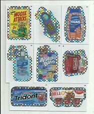 "2012 TOPPS WACKY PACKAGES ANS 9 ""FLASH FOIL "" INSERT LOT!!"