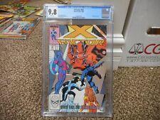 X-Factor 43 cgc 9.8 Celestials cover movie WHITE pgs MINT Marvel 1989 Eternals
