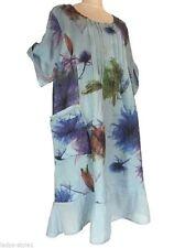 Knielange Damenkleider im asymmetrischen Stil mit Rundhals-Ausschnitt