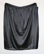 L.LINDA Brand Black Lingerie Skirt Slip Size 12 BNWT