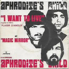 "APHRODITE'S CHILD - I Want To Live - 7"" - Mercury - 132 505 - 1969 - Prog Rock"