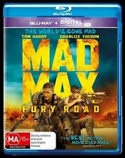 Mad Max - Fury Road 3D (Blu-ray, 2015) New ExRetail Stock Genuine & unSealed D46