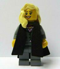 Lego Female Girl Student  Graduate Graduation Minifigure Blonde Hair Grey Suit