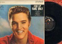 Presley, Elvis - For LP Fans Only RCA LSP 1900(E) Stereo Vinyl LP Record