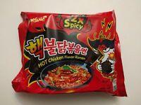 SamYang Korean Fire Noodle Challenge 2XSpicy Hot Chicken Ramen Noodle-Multi pack