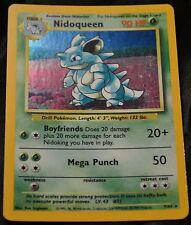 Holo Foil Nidoqueen # 7/64 Error Missing Symbol Misprint Jungle Set Pokemon SP