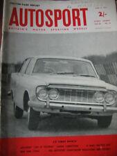 Autosport April 13th 1962 *Le Mans Practice Day & Grand Prix de Bruxelles*