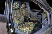 CUSTOM FIT CAMO FRONT SEAT COVERS for the 2003-2006 Chevy Silverado Buckets