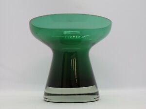 SYMPATHISCHE VASE BLUMENVASE GLASVASE GLAS MID CENTURY 60ER 70ER JAHRE VINTAGE