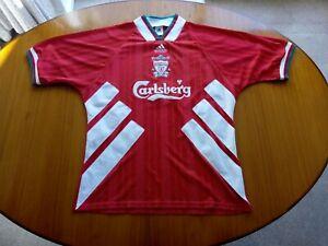 Liverpool Shirt Large Adidas Equipment Size L 1993 1994 1995 LFC 1993/94 1994/95