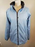 Nike ACG Women's Size XL Tall XLT Coat Jacket Blue Zip Up Thermal Layer