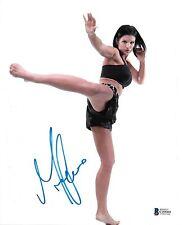 Gina Carano Signed 8x10 Photo BAS Beckett COA UFC StrikeForce Picture Autograph