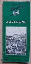 § guide MICHELIN vert AUVERGNE 1959