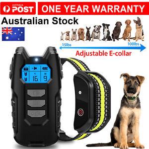 Electric Dog Pet Training E-Collar Anti Bark Remote Control Obedience Collar