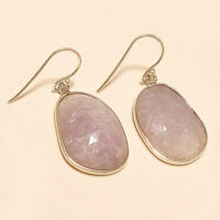 Natural African Sapphire Earrings 925 Sterling Silver Handmade Fine Jewelry Gift