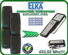 ELKA SKX1HD / Elka SKX2HD, SKX4HD, SKX6HD kompatibel handsender, 433,92Mhz KLONE