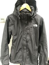 Women's The North Face Hyvent Waterproof Hooded Jacket Hiking Trek Raincoat L