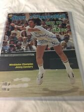Jimmy Connors Autographed Signed Sports Illustrated Magazine PSA/DNA