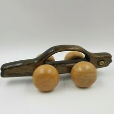 Mercedes Benz MB 380 SL Vintage Wood Sports Car Wooden Back Massager Very Nice
