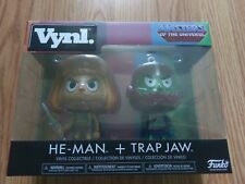 Funko Vynl:Masters of the Universe - He-Man and Trap Jaw New Free Shipping