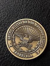 RARE Authentic DOD Venezuela  U.S.A.F Mision Aerea Coin -242