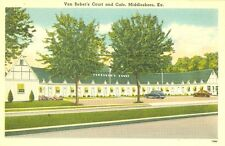 Middlesboro,KY. Van Beber's Court and Cafe
