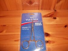 "Wright & McGill Locking Kelly Forceps Fly / Ice Fishing Hemostat Tool 5.5"" New!"