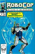 ROBOCOP 4 1990 MARVEL SERIES FUTURE OF LAW ENFORCEMENT NM