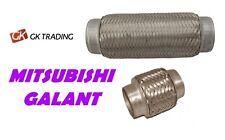 Flexi pipe flexible catalyst exhaust MITSUBISHI GALANT 2.0 GTI 2.5  FULL SET!