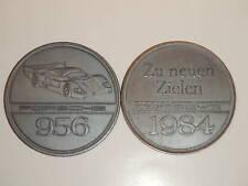 1984 Porsche 956 Christophorus Calendar Coin Münze RARE!! Awesome L@@K