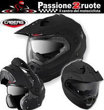Helmet Caberg Tourmax Matte Black Modular Enduro Motard Touring Motorcycle XL