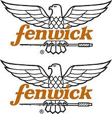 2 Fenwick die cut decals  FREE SHIPPING
