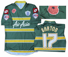 Joey Barton Queens Park Rangers Match Worn Shirt COA