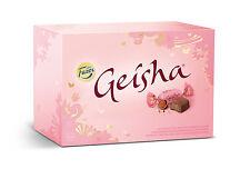 FAZER GEISHA Milk Chocolate Pralines with Soft Hazelnut Filling 150g 5.3oz