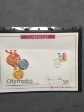 United Kingdom First Day Cover Sports Postal Stamps
