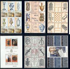 Español Porcelana Cerámica Arte Nacional Manualidades Antigüedades España 6 MNH