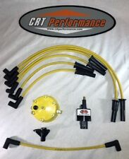 JEEP CHEROKEE 4.0L IGNITION TUNE UP KIT XJ 1994-1997 YELLOW CAP + WIRES - USA