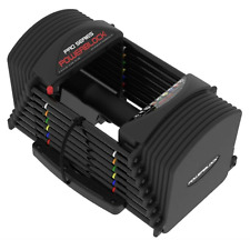 PowerBlock Pro Series 50 Lbs Pounds Adjustable Dumbbell Single One
