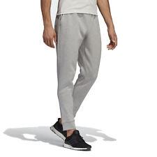 Adidas Athletics Men's ID Stadium Multi Solid Grey/Raw White Sweatpants DU114...