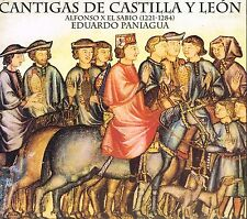 CD album: cantigas de Castilla y Leon: Eduardo Paniagua. pneuma. C5
