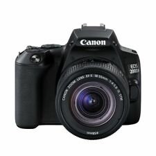Canon EOS 200D II (SL3) DSLR Camera with 18-55mm Lens (Black)
