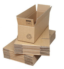 Double Wall Corrugated Cardboard Boxes 535 x 155 x 155mm (21x6x6ins)