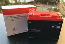 JMT Batería Ion de litio hjt12b-fp, DUCATI 848 , 996 , 1098 , 1198 , yt12b-bs
