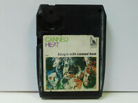 Canned Heat rock 8 track tape Boogie With Canned Heat Liberty