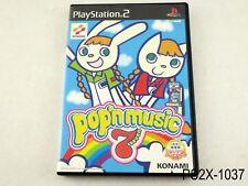 Pop'n Music 7 Playstation 2 Japanese Import Japan JP Bemani PS2 US Seller B