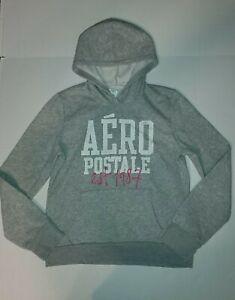 Junior Women's Aeropostale Hoodie Gray Sweatshirt  - XL NWT