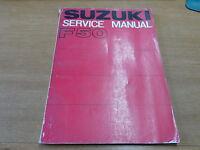 OEM Suzuki Genuine 1970 F50 Service Manual