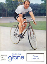 CYCLISME carte cycliste PIERRE TRENTIN équipe GITANE CYCLES velo