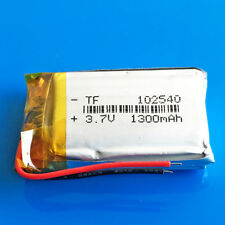 3.7V 1300mAh Lipo Polymer Battery102540 For Speaker DVD GPS Camera Recorder PAD