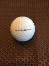 GOLF BALLS-(60) CALLAWAY SUPERSOFT WHITE.MINT/NEAR MINT.NO REFURBISHED..NO LOGOS
